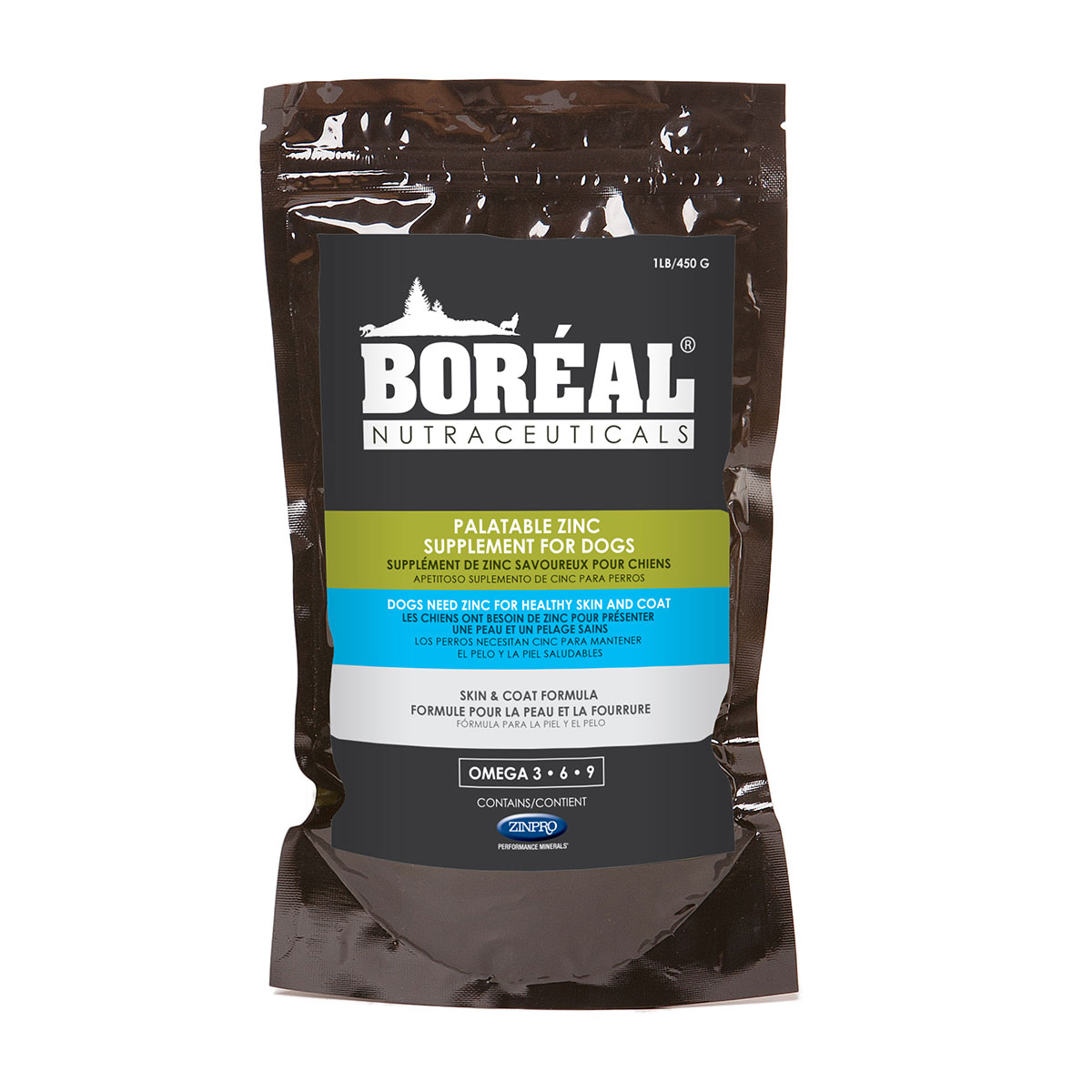 Boreal Palatable Zinc Supplement for dogs