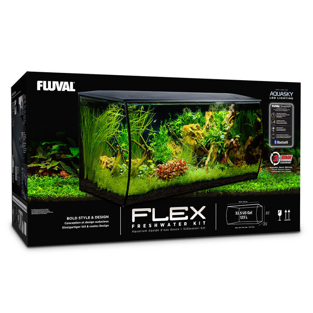 Fluval Flex 32 gallon aquarium