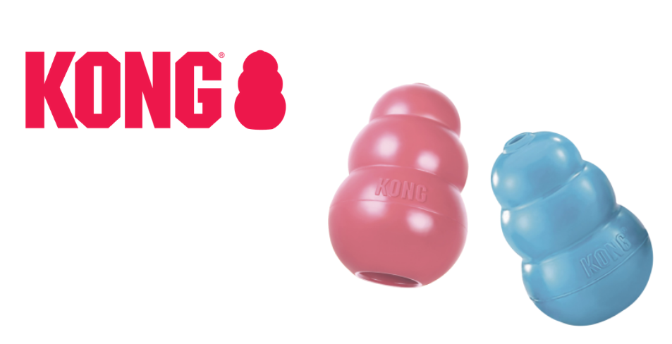 Kong Dog toy website slider