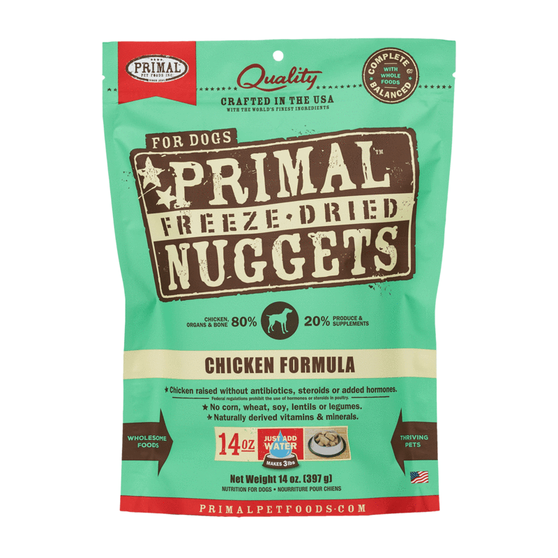 Primal Freeze-Dried Nuggets Chicken Formula